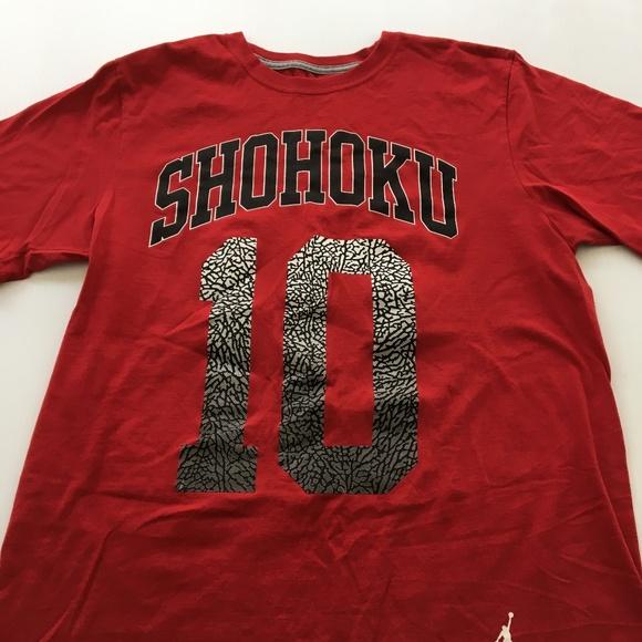 e527a72a0af4 Jordan Other - Jordan Brand Tee Shohoku Graphic T Shirt M Red